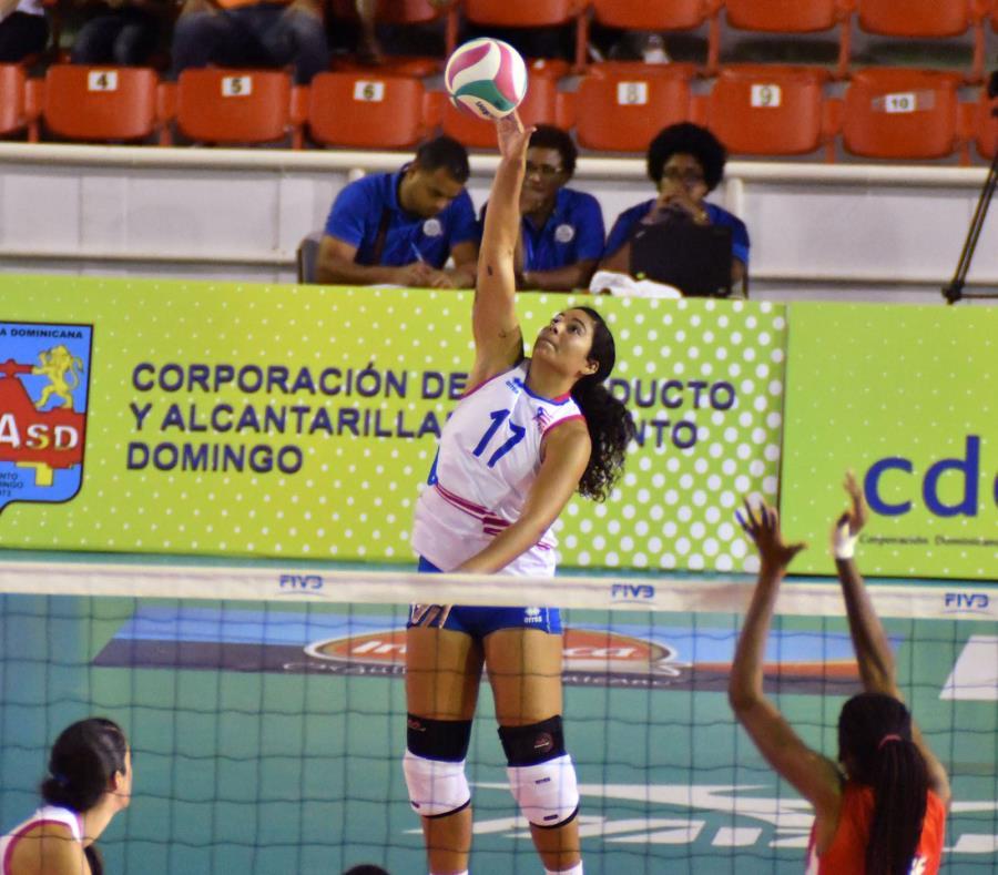 Naomi Santos fue la mejor anotadora de Puerto Rico con 20 puntos. (Suministrada) (semisquare-x3)