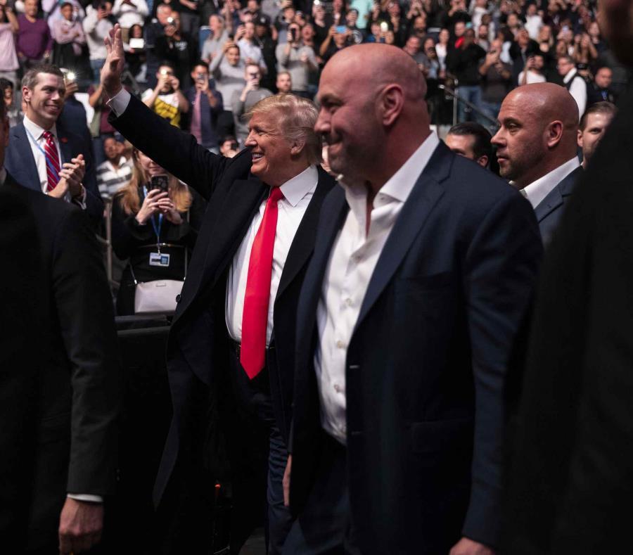 Donald Trump es recibido con abucheos en el Madison Square Garden