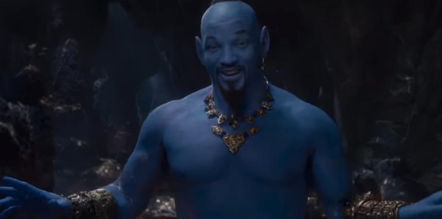 """Es la primera vez que se pudo ver a Will Smith en el papel del bromista """"Genio"""". (Captura) (horizontal-x3)"""
