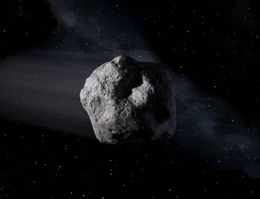 Un gigantesco asteroide cruzará entre la Tierra y la Luna este fin de semana (semisquare-x3)