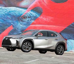 Lexus UX hará su debut norteamericano en Nueva York