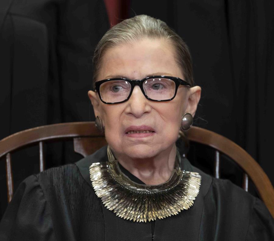 La jueza Ruth Bader Ginsburg. (AP) (semisquare-x3)