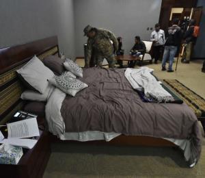 Muestran la lujosa habitación donde vivía Evo Morales en la Casa Grande del Pueblo