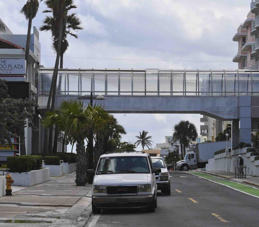 Varios hoteles de la zona de Condado fueron afectados por la avería (semisquare-x3)