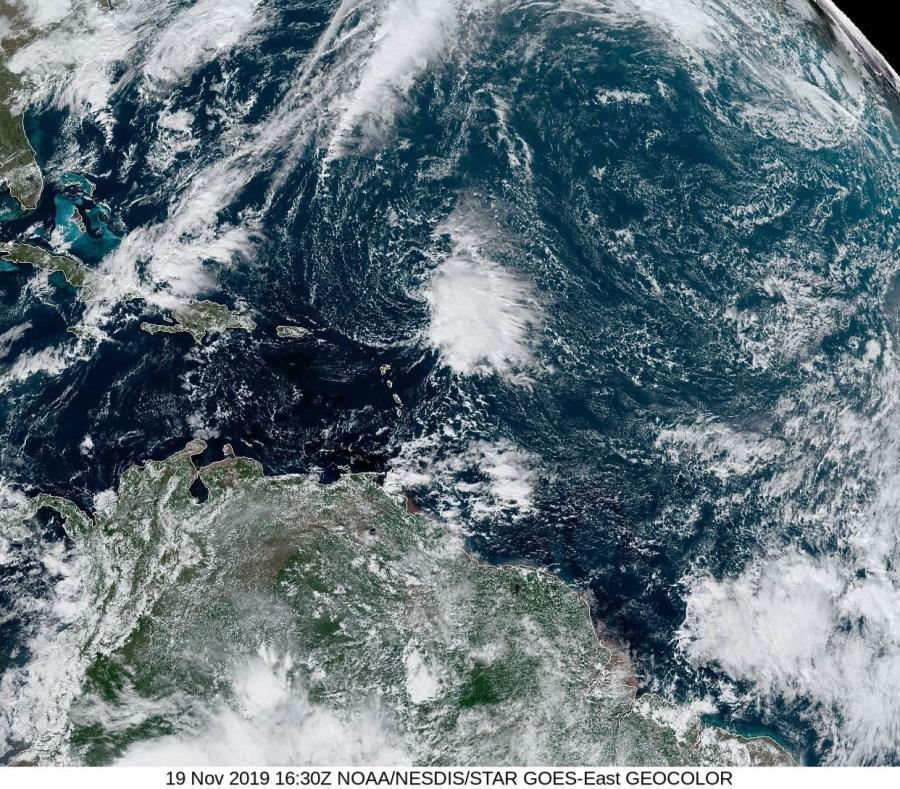 La tormenta tropical Sebastián se desarrolla en el Atlántico
