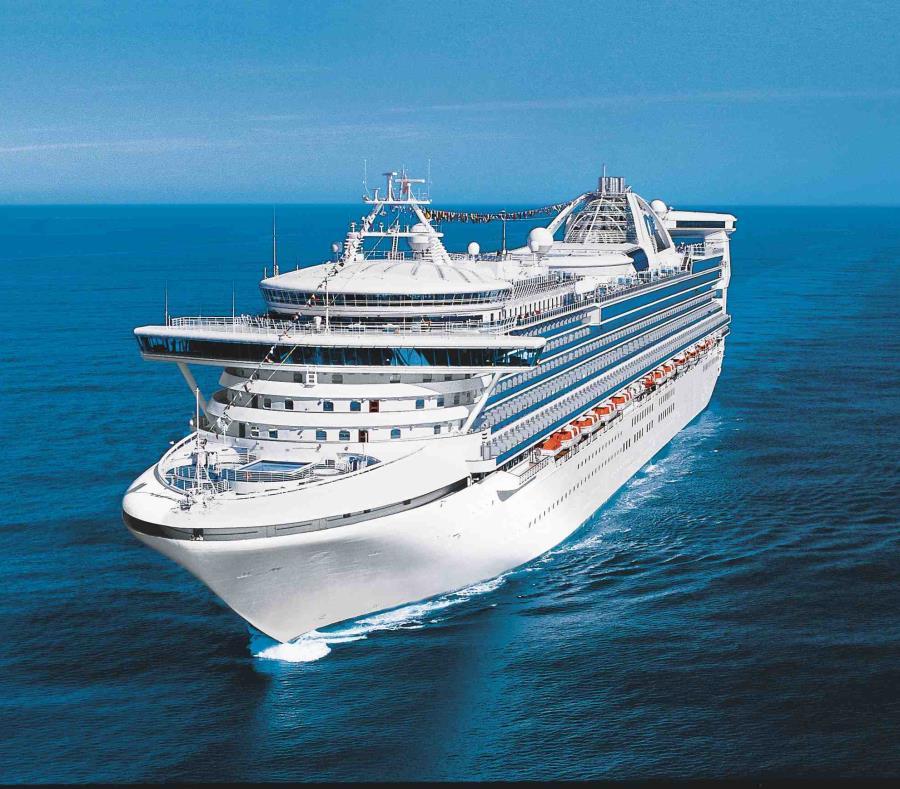 En la foto el crucero