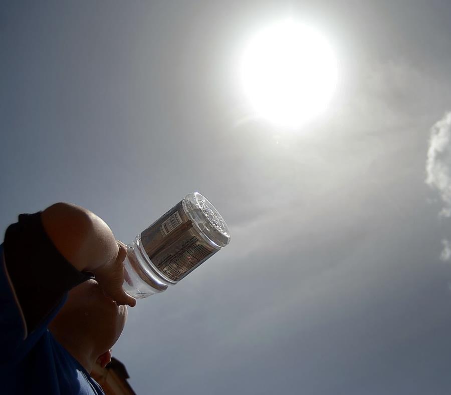 El domingo se registraron elevadas temperaturas de por lo menos 100 grados Fahrenheit. (GFR Media) (semisquare-x3)