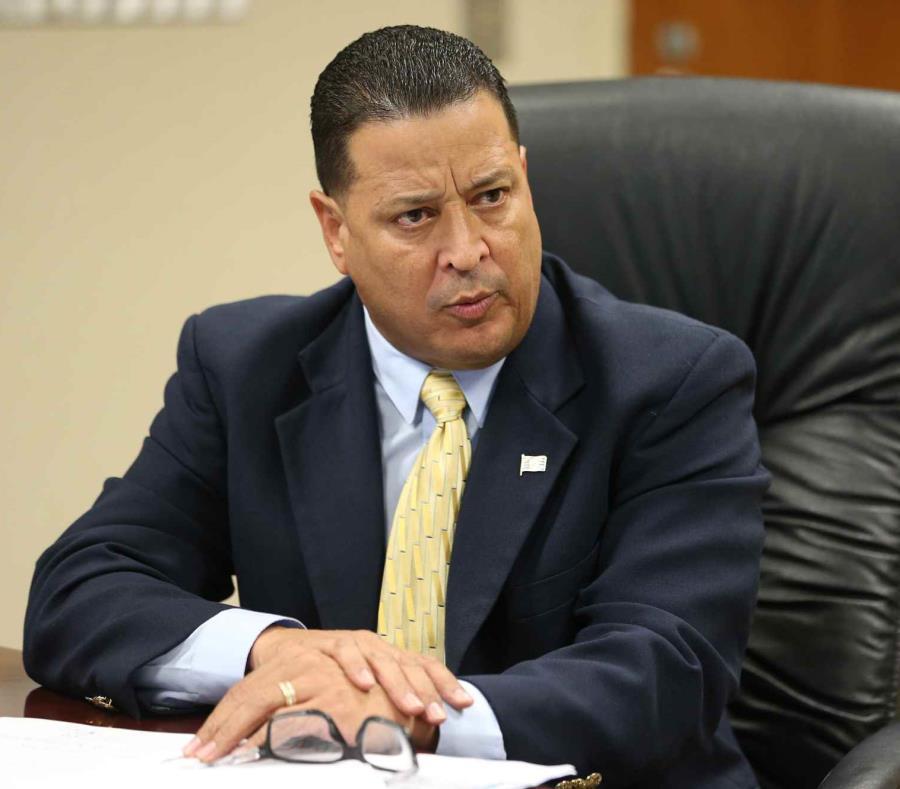 El comisionado de la Policía, Henry Escalera. (GFR Media) (semisquare-x3)