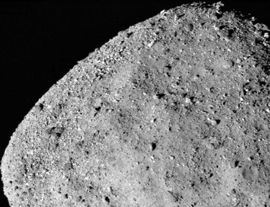 Asteroide Bennu. (semisquare-x3)