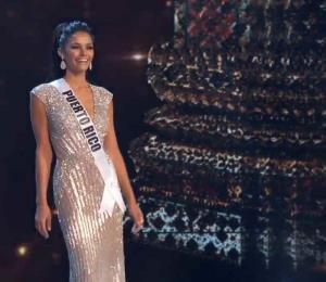 Kiara Liz Ortega luce espectacular durante la preliminar de Miss Universe