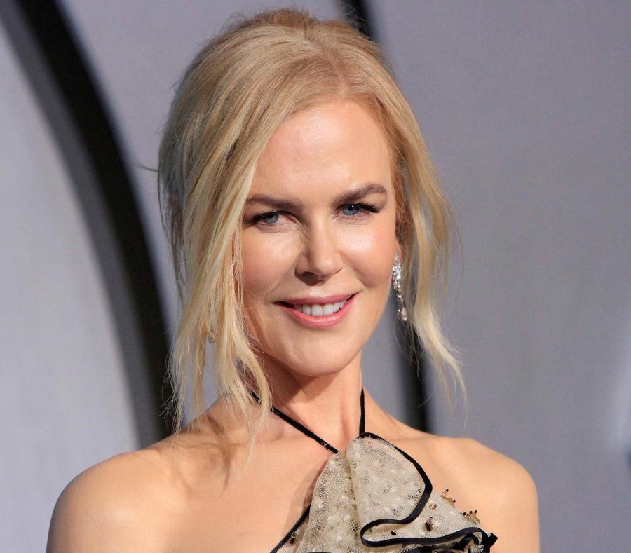 La actriz australiana posa durante la presentación de la película
