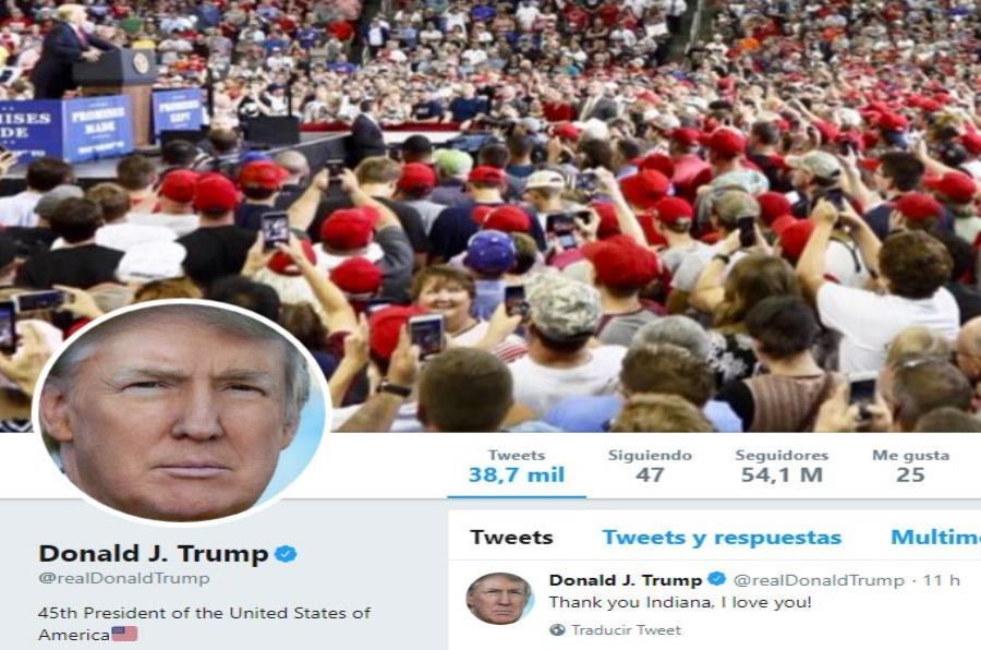 Tuits de Trump son 'mensajes de un universo alternativo — China