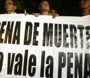 Viva la lucha contra la pena de muerte