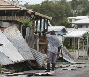 A reclamar daños causados por el huracán Irma