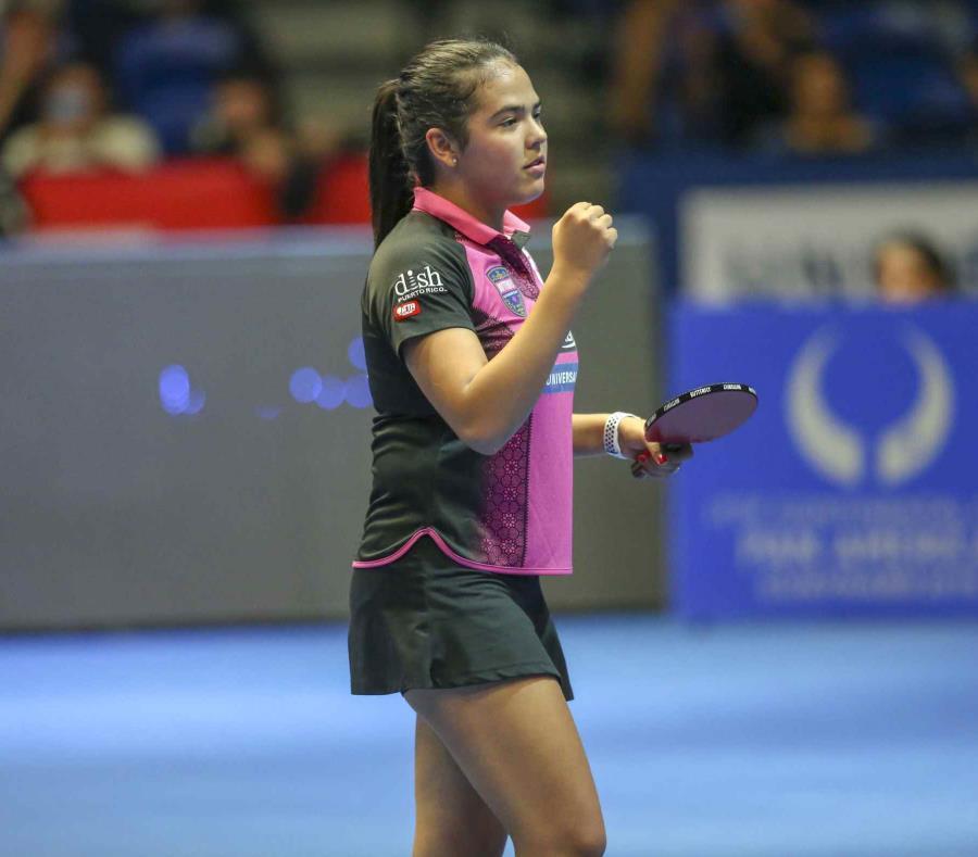 Adriana Dïaz buscará, mañana, su pase a la ronda semifinal al enfrentarse a la rumana Adina Diaconu. (semisquare-x3)