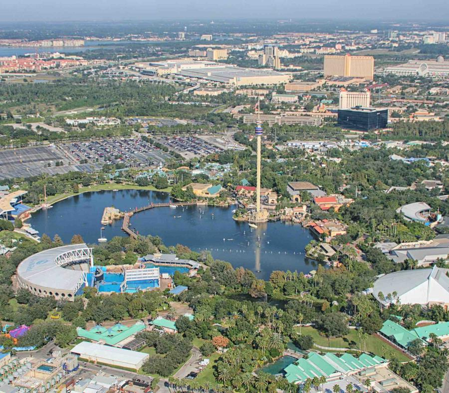 Vista aérea de Sea World Orlando. (Shutterstock) (semisquare-x3)