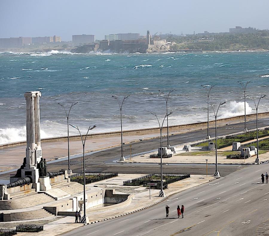 Vista del Malecón de La Habana. (Benjamín Morales Meléndez / GFR Media) (semisquare-x3)