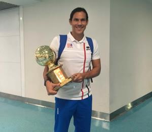 Satisfecha la selección de voleibol a su llegada a Puerto Rico