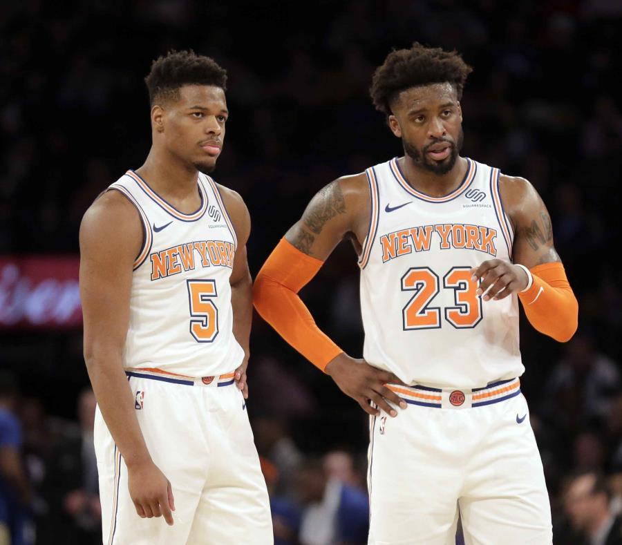 En su clasificación anual de los equipos más ricos, Forbes dijo que la valoración de los Knicks se incrementó en un 11 por ciento debido a una renovación del Madison Square Garden por $1,000 millones. (AP / Seth Wenig) (semisquare-x3)