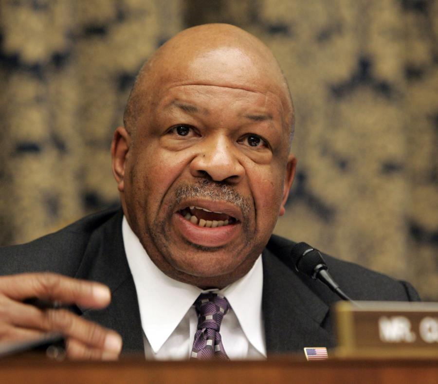 Elijah Cummings representante de Maryland. (semisquare-x3)
