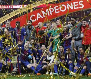 El Barcelona se proclama campeón de la Copa del Rey por trigésima vez