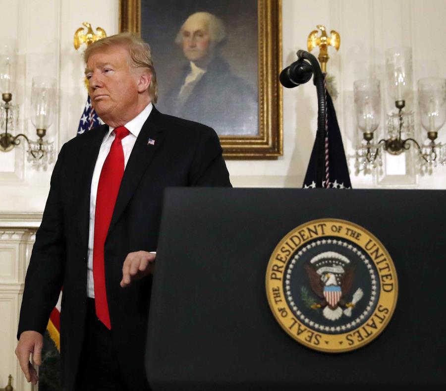 Donald Trump, presidente de Estados Unidos (semisquare-x3)