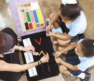 Montessori en la educación pública