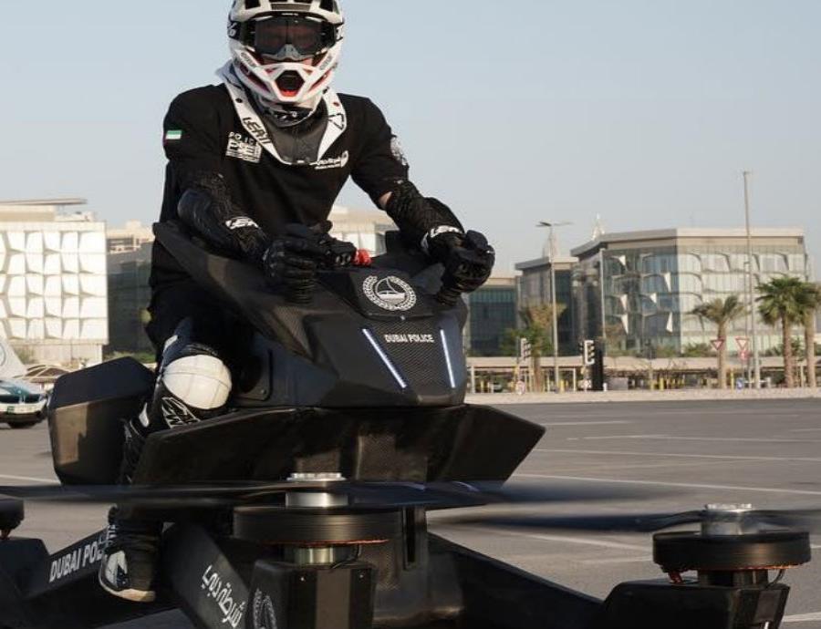 Motos voladoras para la policía de Dubái