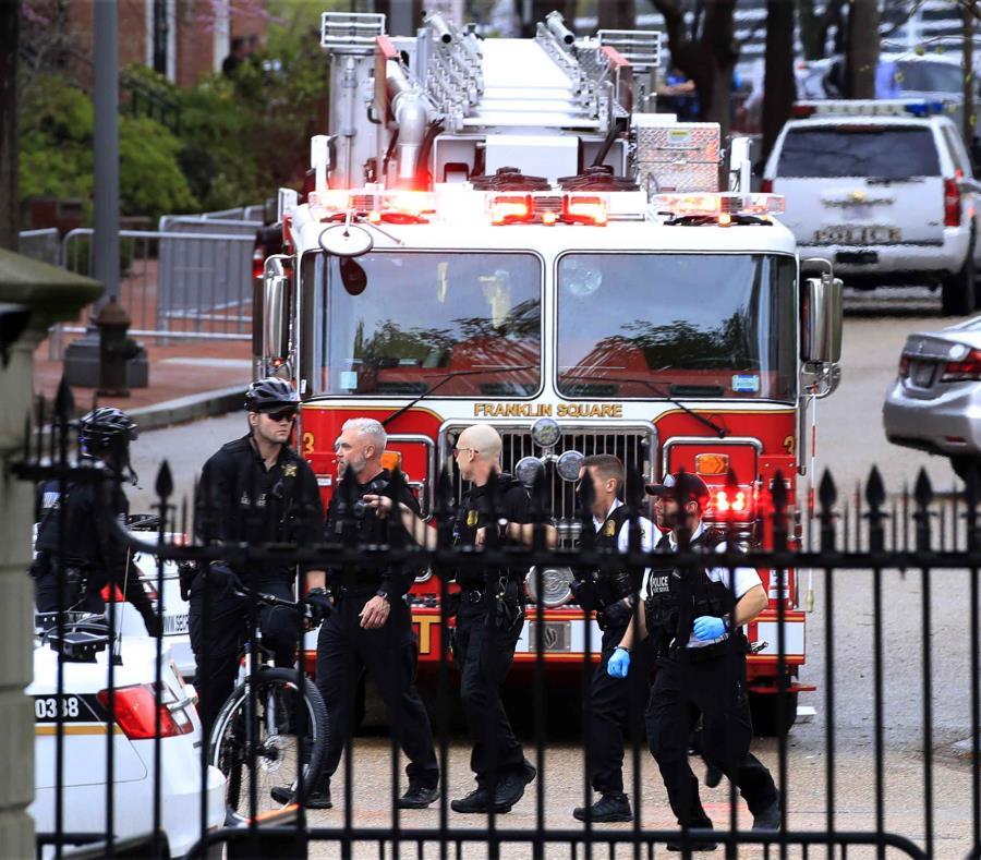 Un hombre se prendió fuego frente a la Casa Blanca