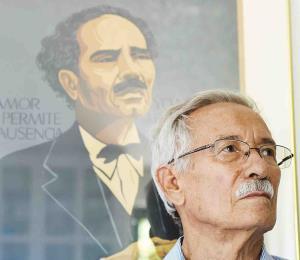 """El expreso nacionalista, Heriberto Marín, presentó en Nueva York """"Eran Ellos"""""""