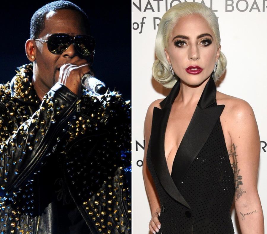 Lady Gaga (izq.) desveló en anteriores ocasiones que fue violada con 19 años. (semisquare-x3)