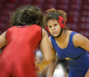 Octava Andribeth Rivera en el Mundial Juvenil de Lucha