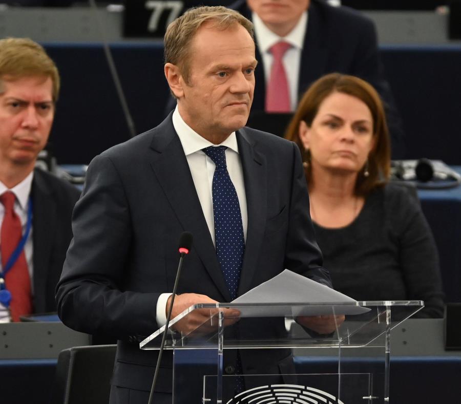 El presidente del Consejo Europeo, Donald Tusk (semisquare-x3)