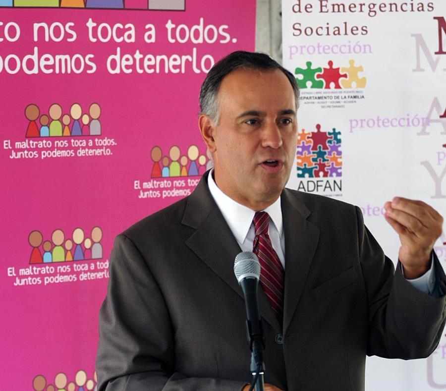Félix Matos Rodríguez, de 56 años, fue secretario de la Familia bajo el gobierno de Aníbal Acevedo Vilá. (GFR Media) (semisquare-x3)