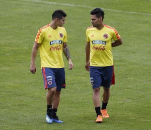 Colombia debuta en Rusia con Falcao