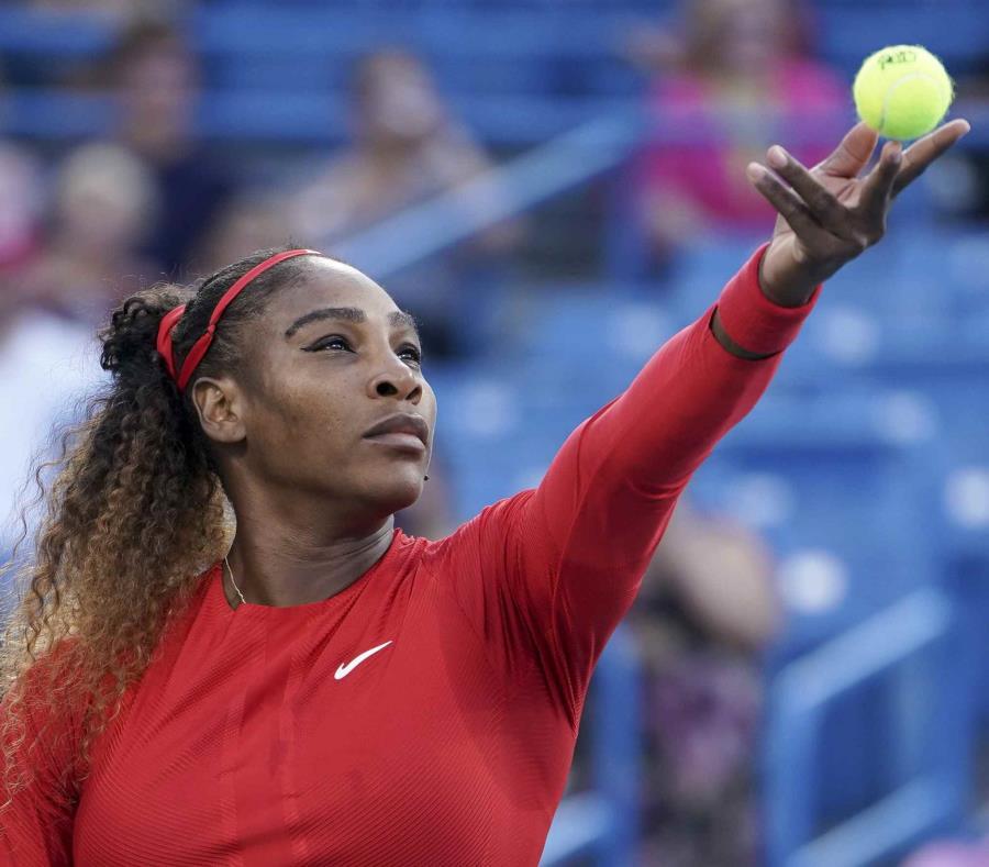 Serena Williams dijo que antes del partido se sentía bien. (AP) (semisquare-x3)