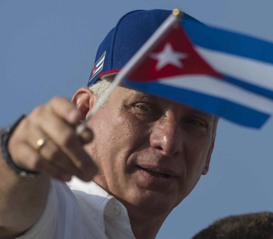 Miguel Díaz-Canel, presidente de Cuba (semisquare-x3)