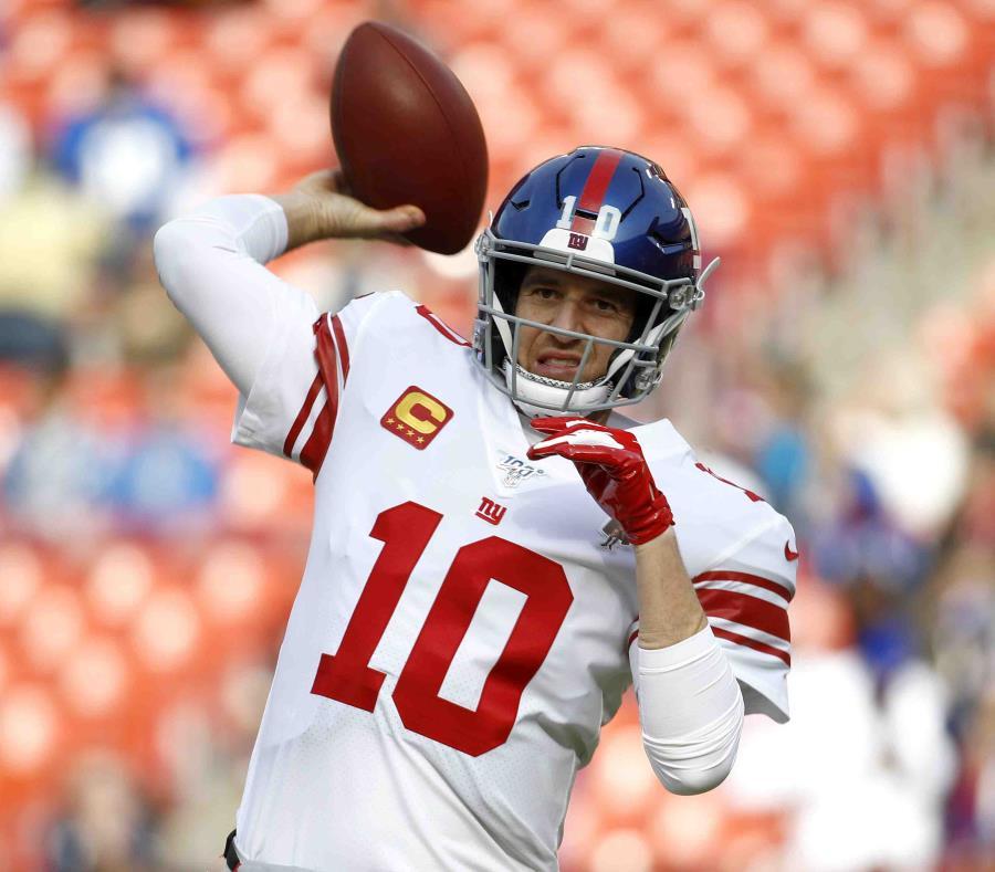 Eli Manning de los New York Giants se retira de la NFL