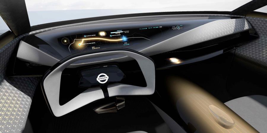 El guía tiene una forma ergonómica para colocar al conductor en una posición relajada y maximizar la visibilidad del panel de instrumentos. (Suministrada)