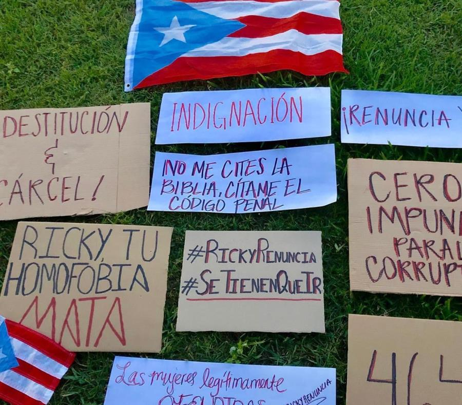 Puerto Rico: piden la renuncia del gobernador tras filtrarse polémicos chats