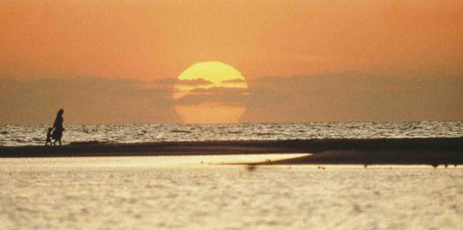 Vista del atardecer en el Golfo de México. (GFR Media) (horizontal-x3)