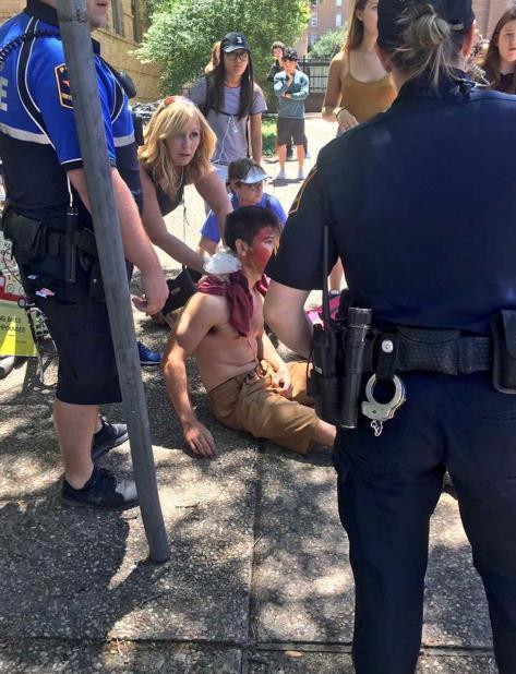La policía de Austin dijo que una persona responsable fue arrestada. (vertical-x1)