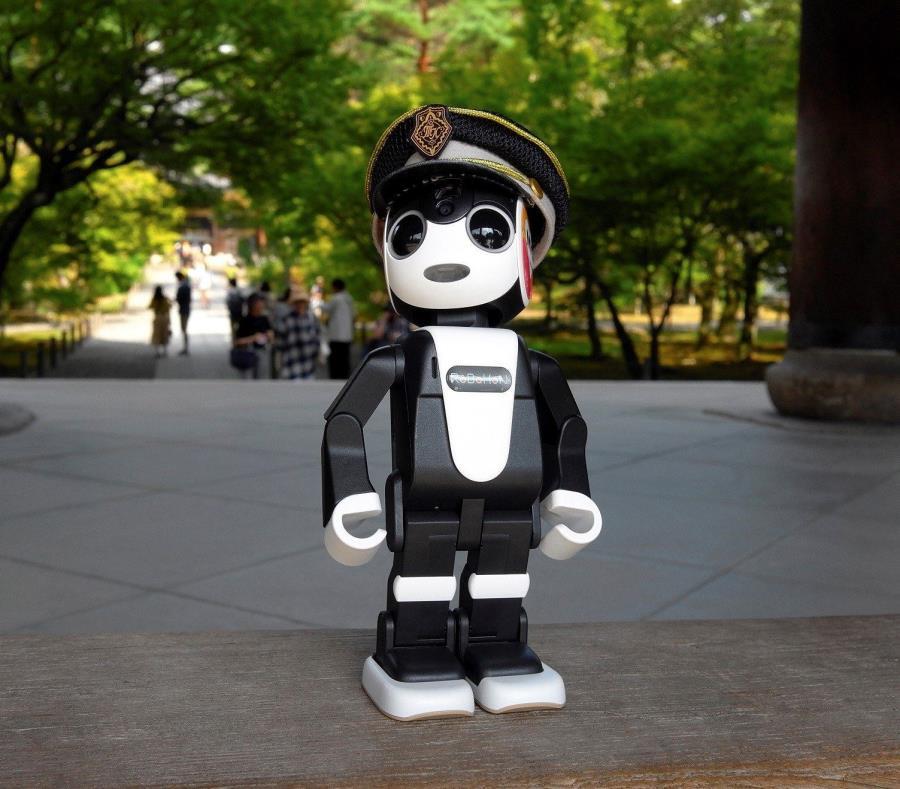 Fotografía del minirobot humanoide japonés Robohon que ejercerá como guía turístico en Kioto, Japón. (EFE) (semisquare-x3)