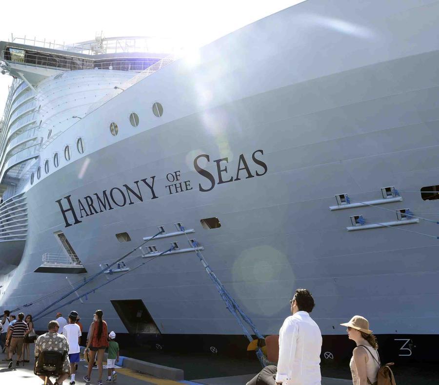 Imagen del Harmony of the Seas. (semisquare-x3)