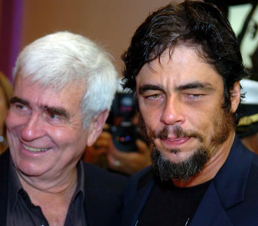 Benicio del Toro junto a su padre. (GFR Media) (semisquare-x3)