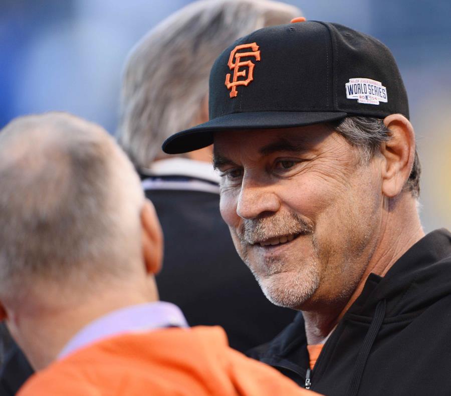 Bruce Bochy se va del béisbol tras la temporada de 2019