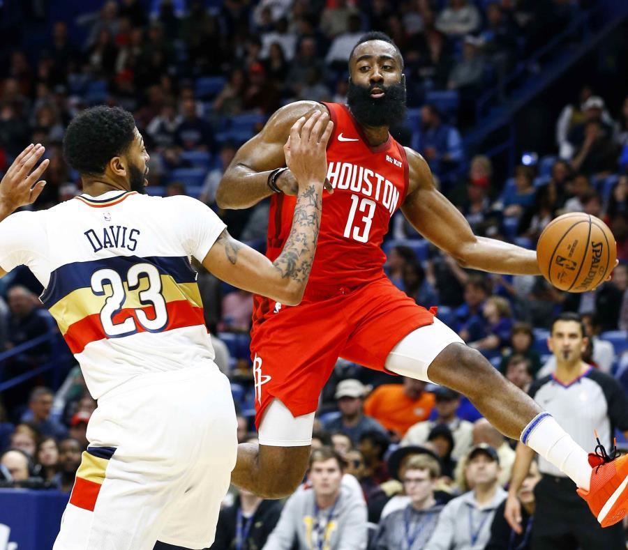 James Harden Records 2019: Los Rockets Superan A Los Pelicans Con 41 Puntos De Harden