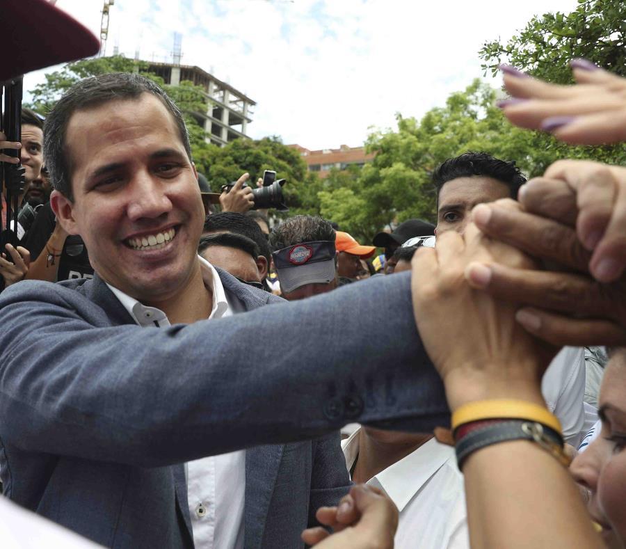 En opinión de Guaidó, Maduro padece paranoia puesto que