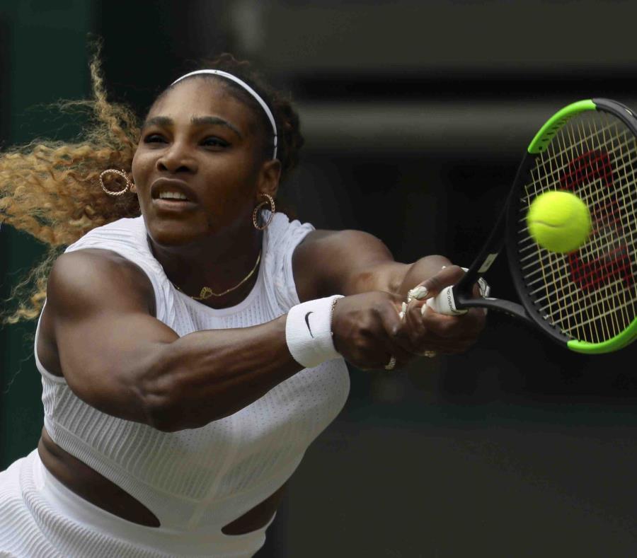 Serena Williams avanzó a Semifinales de Wimbledon