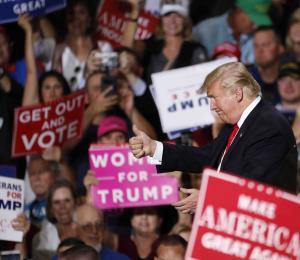 Trump y Biden promueven candidatos en Nevada